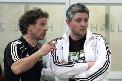 Co-Trainer Pius Joller und Trainer Christian Gretler