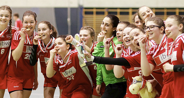 juniorinnen U16 Cupsieger2018